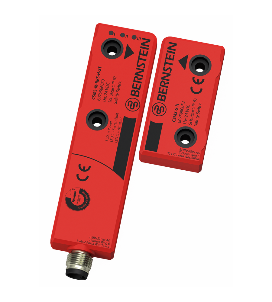 Contactless Safety Monitoring Sensor Csms Bernstein Ag Non Contact Power Monitor Product Advantages